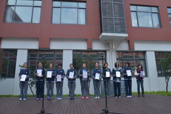 上海各程序中学大比拼这所学校丑出了天-侬好校服转学高中图片